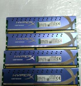 HyperX ddr3 2133мгц 4х2Гб