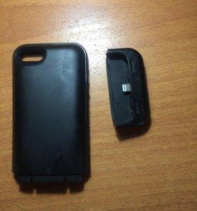 Чехол power bank для iPhone 5,5s