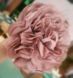 Цветы бумажные большие((для декора (на праздник