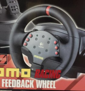 Руль logitech momo racing force feedback wheel