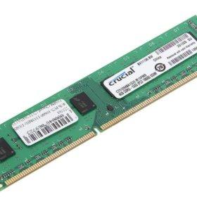 Планка памяти DDR 3 Crucial 4 гб