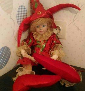Фарфоровая кукла Boru Collection
