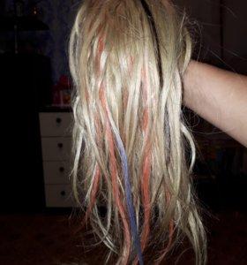 Волосы для наращивания 45 см.