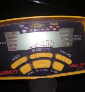Сдам в аренду металлоискатель garrett ace 250
