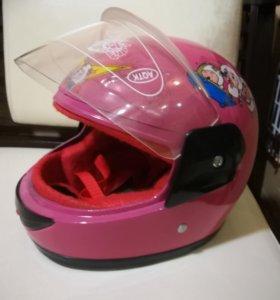 Шлем детский для девочки