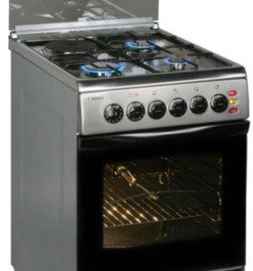 Газовая плита ARDO с электрической духовкой.