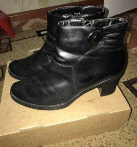 Отдам ботинки кожаные