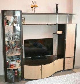 Шкаф под телевизор, стенка под телевизор, горка.