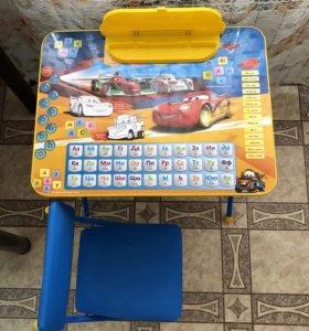 Продам стол с мягким стульчиком