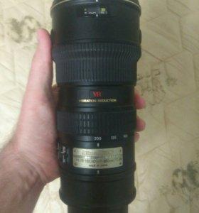 Nikon af-s 70-200 f 2.8 vr i