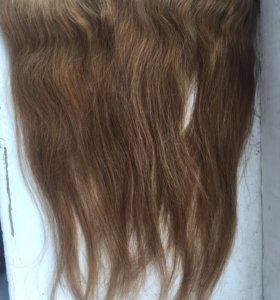 Натуральные Волосы на трассе (на заколках )