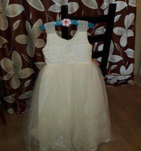 Гламурное платье