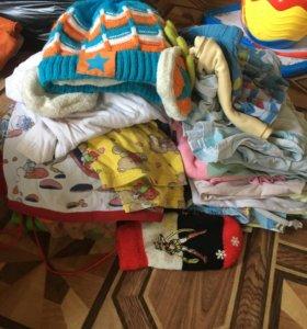 Пакет вещей на мальчика 2-4л