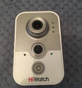 Внутренняя компактная IP-камера HiWatch DS-I114W