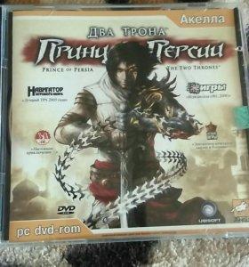 Принц Персии-два трона CD (игра)