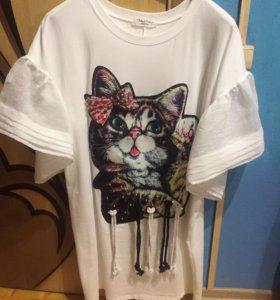 Платье новое кошки