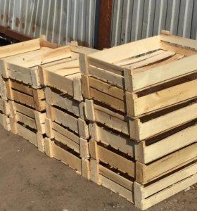 Деревянные ящики под рассаду, овощи отдам