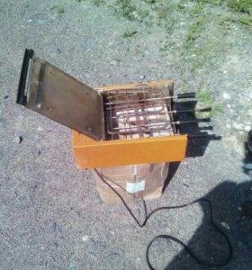 Электрошашлычница