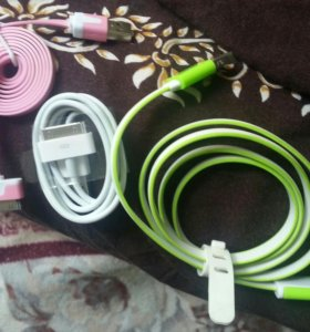 Usb-кабель для айфона.