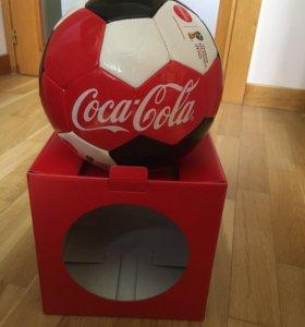 Футбольный мяч Coca-Cola