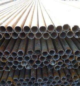 Трубы бу ф51,57,60 для столбов