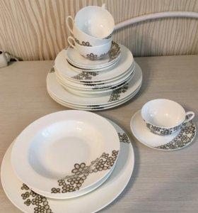 Новый набор столовой посуды