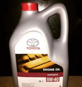 Toyota engine oil synthetic 5w40