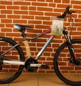 Женский велосипед Cronusс с дисковыми тормозами