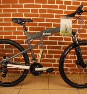 Складной велосипед 27.5 гидро тормоза