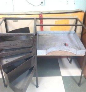 Каркас для стола в гараж или мастерскую