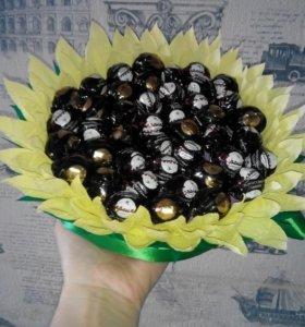 Букеты из конфет ням ням🍬🍬🍬