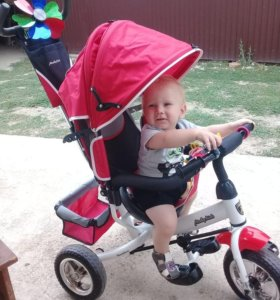 Трёхколёсный велосипед Moby Kids Comfort