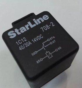 Реле 5-ти контактное Starline