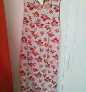 Легкое платье для беременной