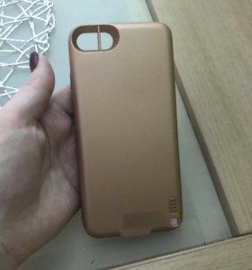 Чехол аккумулятор iPhone7 5600mAh