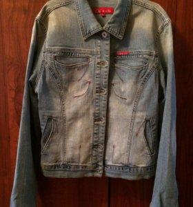 Джинсовая куртка 46 размер