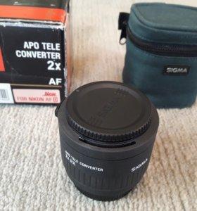 Tele-Converter Sigma AF APO Tele 2.0x EX DG Nikon