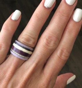 Кольцо. Серебро с эмалью