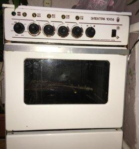 Электрическая печь с духовкой