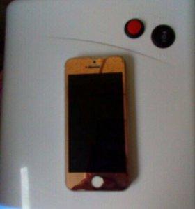 iPhone 5s на 16 GB Голд Торг!