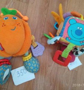 Развивающие игрушки, коврик