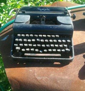Печатная машинка Diplomat и Olympia