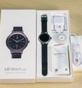 Обменяю или продам Lg watch style titan
