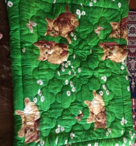 Тёплое и лёгкое детское одеяло