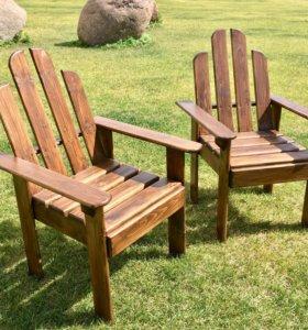 Садовые Кресла и столик (три варианта исполнения)