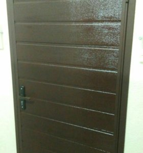 Новая металлическая дверь, утепленная