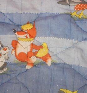 Одеяло ватное детское