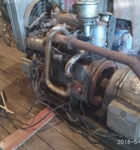 Дизель генератор, двигадель 12 л/с, генератор 8кВт