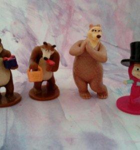 Мадагаскар, Маша и медведь, Шрек, Животные