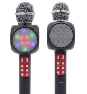 Беспроводной микрофон караоке(светящийся)
